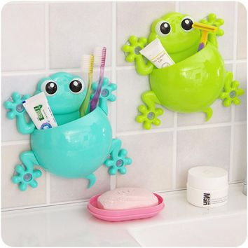 Super Deal 2015 Toothbrush Holder Set Family Set Wall Mount Rack Bath bathroom accessories banheiro bathroom set HYM17&06
