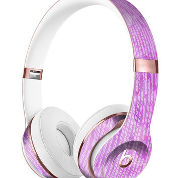 Pink Grunge Surface with Microscopic Matter Full-Body Skin Kit for the Beats by Dre Solo 3 Wireless Headphones