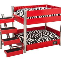 LazyBonezz The Metropolitan Pet Bunk Bed:Amazon:Pet Supplies