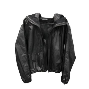 Black Mesh Wind and Rain Jacket