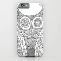 Owl Doodle art iPhone & iPod Case by IoanaStefPhotography
