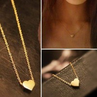 Heart Necklace in Gold, Silver & Rosegold