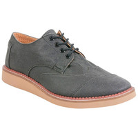 TOMS Aviator Twill Brogues Ash Ash Oxfords
