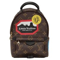 "Louis Vuitton Palm Springs ""World Tour"" Backpack Mini"