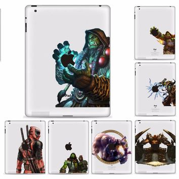 YCSTICKER - Tablet Partial Sticker Vinyl Decal Warcraft Painting Protective Skin For iPad Pro 9.7 iPad Air 2 iPad 6 iPad Air