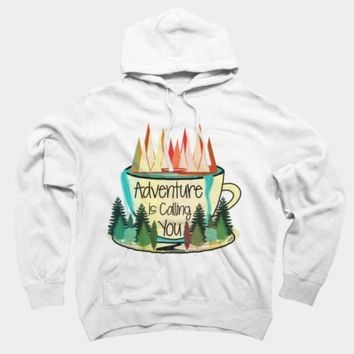 Adventure Is Calling You Pullover Hoodie By Famenxt Design By Humans