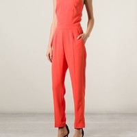 Msgm Sleeveless Jumpsuit - Boutique Mantovani - Farfetch.com