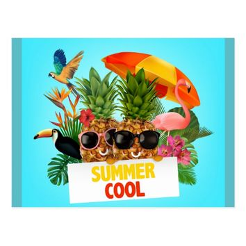 Summer Cool Postcard