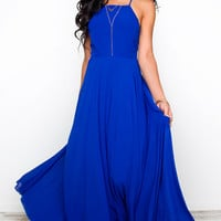 Aurora Maxi Dress - Royal Blue