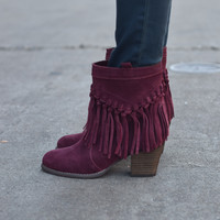 Sound Bootie with Heel by Sbicca {Wine}