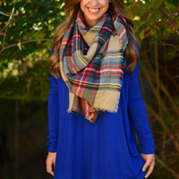 Softie Tunic - Royal Blue
