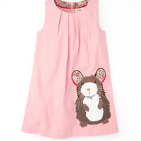 Animal Appliqué Pinafore