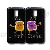 samsung galaxy S4 mini,S3 mini,S5 mini,galaxy s5, S4,S3,S4 active,S5 active,iphone 6 case,iphone 6 plus case,iphone 5s case---Peanut butter and Jelly,Best friends,price for 2pcs in one set