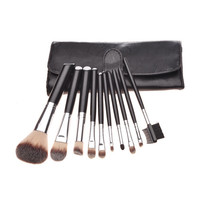 Black 10-pcs Hot Sale Make-up Brush Set = 4831007748