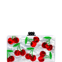 Jean Cherries by Edie Parker for Preorder on Moda Operandi