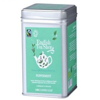 English Tea Shop Peppermint Fairtrade and Organic Loose Tea 100g Our classic fair trade peppermint tea is a firm favorite, and not just for after dinner
