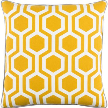 Torrance Toss Pillow SUNFLOWER/GREY