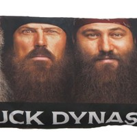 "Duck Dynasty ""Four Faces"" Microfiber Body Pillow"