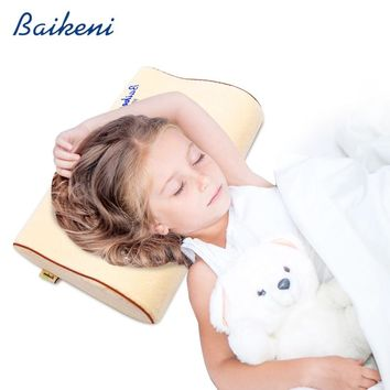 40*25 Children Memory Foam Pillow for 5-12 Year-old Nursery Student Cervical Health Care Neck Pillow Kid Baby bedding Pillows