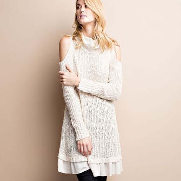 Flurry Fable Sweater Dress
