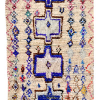 Azilel Rug, Sapphire Totem