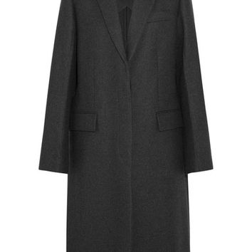 Stella McCartney - Oversized split-side wool coat
