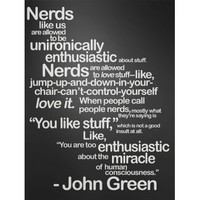 DFTBA Records :: Nerds Like Us Poster- Black