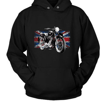 Matchless Motorcycle Hoodie Two Sided