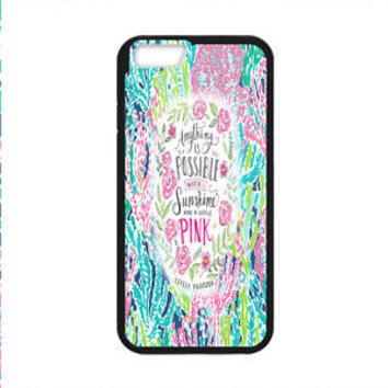 Beauty Best Lilly Pulitzer Quote For iPhone 8 and 8 Plus Hard Plastic Case