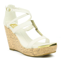 Fahrenheit Women's 'Shakira-01' Platform Wedge Sandals