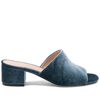 RAYE x REVOLVE Cara Mule in Dusty Blue