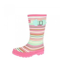 Joules KIDS Girls Welly Multi Mix