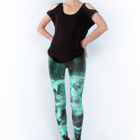 Minty Emissions Leggings