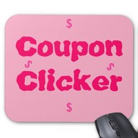 Coupon Clicker Mouse Pad
