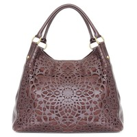 isabella fiore leather carryall from RedEnvelope.com