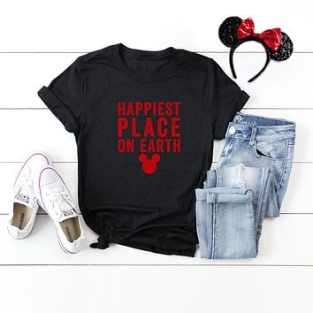 Happiest Place on Earth | Short Sleeve Graphic Tee