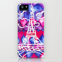 Paris iPhone Case by Lacee Swan | Society6