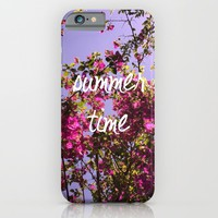 Summer Time iPhone & iPod Case by Louise Machado