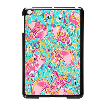Lilly Pulitzer Patterns Flamingo iPad Mini Case