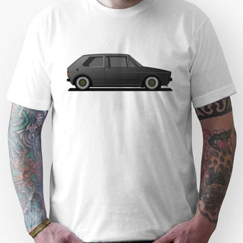 Volkswagen Golf Mk1 - Black Unisex T-Shirt