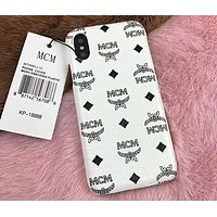 MCM Painted Series Beautiful Fashion iPhone 6/7/8/X Phone Case Cover F-OF-SJK 6