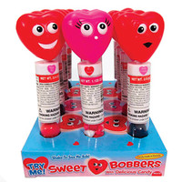 Valentine Bobbin Hearts: 12-Piece Display