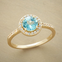 BLUE ICE QUINTESSENCE RING         -                  Gemstone         -                  Rings         -                  Jewelry                       | Robert Redford's Sundance Catalog