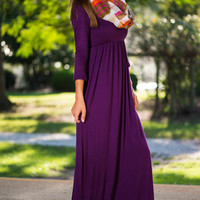 The Ari Maxi Dress, Purple