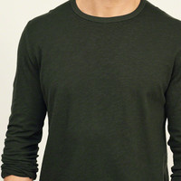 Long-Sleeve Crew Tee