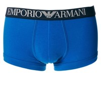 Emporio Armani Coloured Trunk Stretch Cotton at asos.com