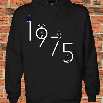 the 1975 Black Pullover Sweater Sweatshirt Hoodie