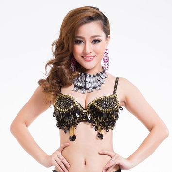 Belly Dance Belly Dancing Costume For Women Sexy Bra Top Clothes Dancing NW