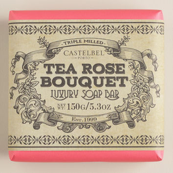 Castelbel Rococo Tea Rose Soap - World Market