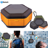 Portable Bluetooth 4.0 Speaker IPX5 Waterproof Speaker With Hook Outdoor Bicycle Subwoofer Boom Box With Mic For Iphone Android